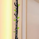木の身長系ウォールステッカー
