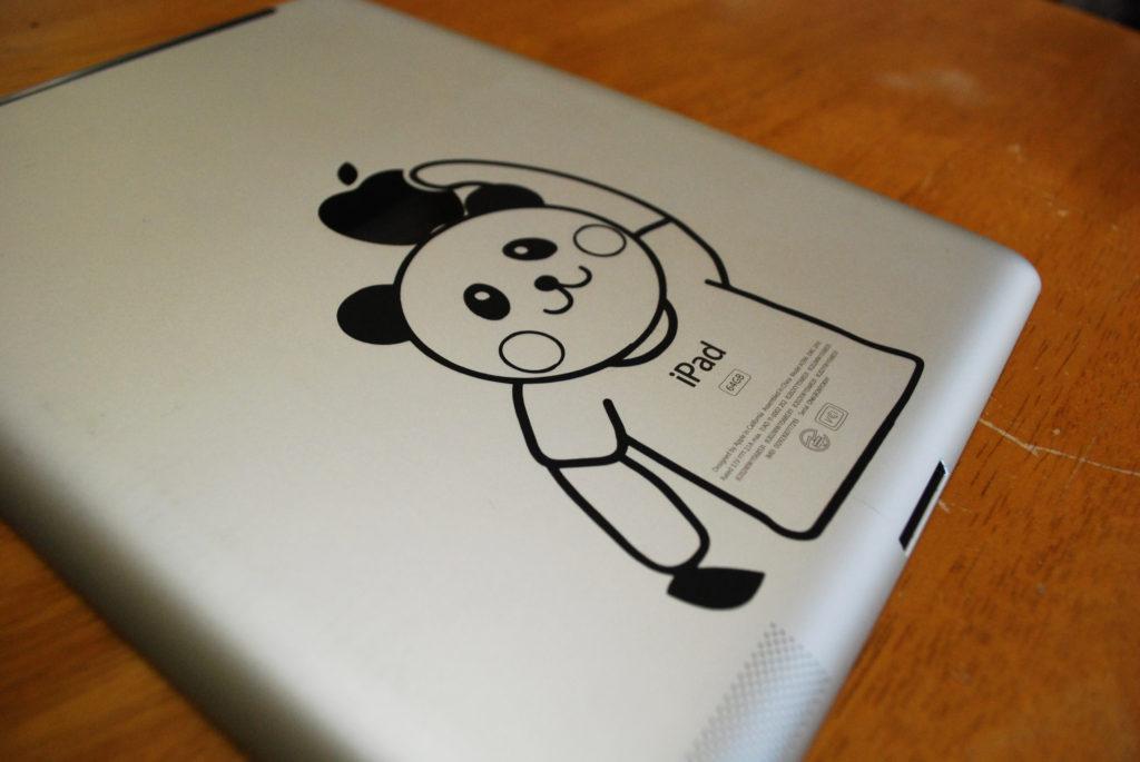 ipadのアクセサリーにおすすめのかわいいパンダのウォールステッカー