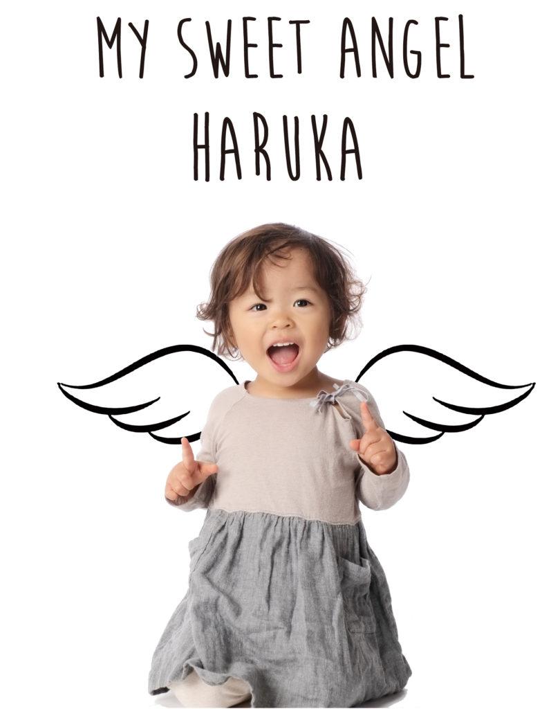 子供を可愛く撮ることができる天使のおしゃれな壁ステッカー