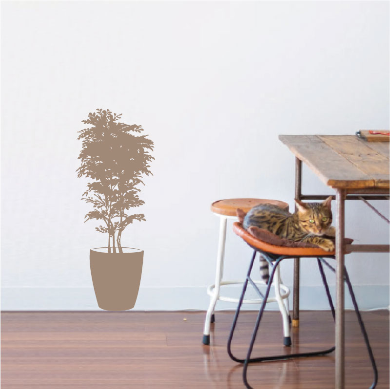 植物ウォールステッカー